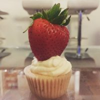 Strawberry Nibble w/ Cream Cheese Frosting